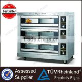 Commercial Full Series 3-Layer 9-Tray Electric 3 deck bakery oven