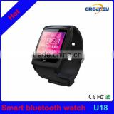 "GR-U18 1.54"" wrist watch WIFI bracelet bluetooth 4.4 IOS Android Smart Watch With Compass Pedometers GPS Tracker"