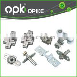 Sliding Door Hardware Set Pocket Door Lock Part Bi-fold Hardware Set and Aluminum Box Track