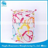Newest Design High Quality customized laundry bag with cord polyester