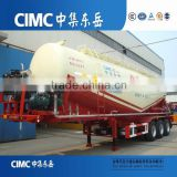 CIMC Second Hand Cement Bulker Silo Tanker Trailer for sale