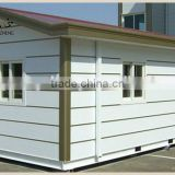 Small house for 4 people family with well design plans and good quality light steel structure Prefabricated House