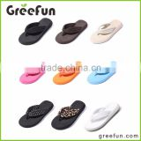 New Products Lovely Girls Latest High Heel Sandals Rubber Sandals Latest Ladies Slipper Shoes And Sandals