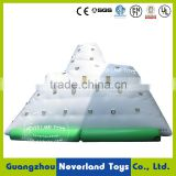 NEVERLAND TOYS Inflatable Floating Iceberg Inflatable Water Climbing Mountain Inflatable Iceberg Best Quality for Sale