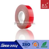 Solvent acrylic heat resistant double sided badge VHB adhesive tape