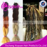 2015 new arrival style synthetic super jumbo braid hair extension hair braids various colors are avaliable