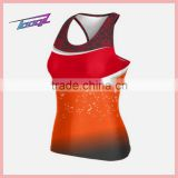 sexy High School Cheerleadering tank tops Colorful