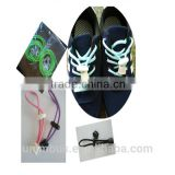 Locking Shoe Laces Elastic Shoelace Running/Jogging/Triathlon/Sports 120cm No Tie Shoe Laces
