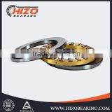 China bearing factory supply steel thrust ball bearing size 51113/51113m with single row