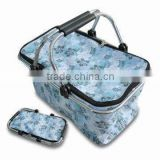 Shopping basket&picnic basket&folding basket&foldable basket&supermarket basket