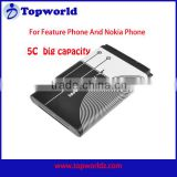 Big Sale Low Price BL-5C bl 5c Battery Mobile Phone Battery Batteries for Nokia 1000/ 1010/ 1100 and for some bar phone