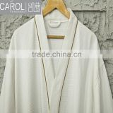low MOQ super soft weave bathrobe