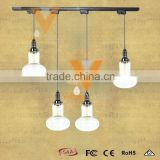 China Supplier Projection B Pendant Lamp Hand Blown Track Light Vintage Glass Hanging Lamp