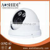 D20A Outdoor 2pcs array IR leds Home Security Cameras,1mp / 1.3mp / 2mp CCTV mini dome camera