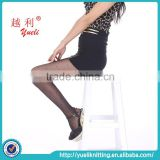2015 new arrival sheer seamless pantyhose reinforced toe pantyhose black tube pantyhose