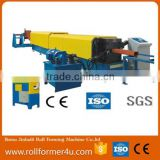 high speed and quality Rain Gutter Downspout Roll Forming Machine rain pipe roll forming machine
