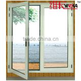 double glazing modern upvc cheap casement anti-noise german windows