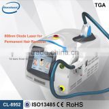 Big power Corelaser Permanent hair removal machine / 808nm diode laser hair removal price