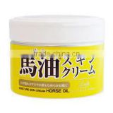 Horse Oil Skin Cream made in Japan Loshi 220g