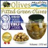 Pitted Green Olives, 100% High Quality of Tunisia Olives,Black and Green Olives,Table Olives