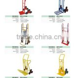 high quality convenient security save labour six wheel metal hand truck used for warehouse stair climbing