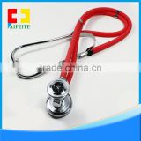 stainless steel stethoscope hospital use dual head