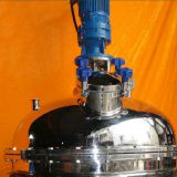 stainless steel jacket mixing&emulsifying tank