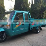 250/650/800/1000cc water cooling closed cargo three wheel motorcycle/cargo tricycle with cabin for sale