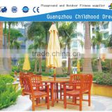 (HD-19605)Restaurant bench seat with folding umbrella