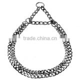 High Quality Dog Collar Choke Chain And Metal Chain Pet Collar , wholesale strong durable fashion dog collar choke chains