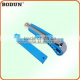 F2043 Big Size Plastic sliding buckle knife/DIY cutter knife/paper cutter knife/exchengeable knife