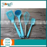Silicone Kicthen Cooking Tools Spatula Cooking Spoon Soup Ladle Egg Turner Kitchen Accessories Silicone