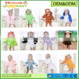 20 designs Hooded Animal Modeling Baby Bathrobe Cartoon Baby Towel Character Kids Bath Robe Infant Beach Towels