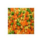 frozen mixed vegetables(frozen green peas,frozen cut green beans,diced carrots,sweet corn kernels,cut green beans....)
