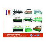 Green Cold - Rolled Steel Single Sided Gondola Shelving For Supermarket