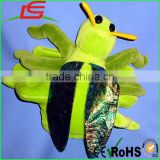 CUSTOMIZED PLUSH BUG HAND PUPPETS GRASSHOPPER