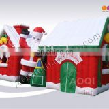 Inflatable christmas house