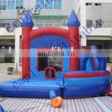 New design outdoor nice bouncy castle combos for children NC012