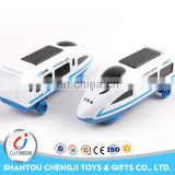 Funny electrical power bullet train toy with music and sound