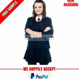 Girls winter school uniform manufacturer