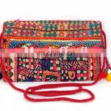 India Ethnic Banjara Clutch Bag/patchwork Bags/vintage Bags/Banjara Hand Embroidered HandBags / Traditional clutch Purse /