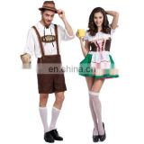 Halloween Costume Men Beer Costume Oktoberfest Suits England Style Stage Performance Cospaly Clothing halloween