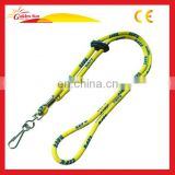 Custom Round bungee Coil Cord Lanyard
