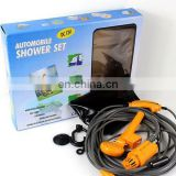 12V portable electric car shower kit automobile travel outdoor car wash kit