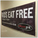 outdoor vinyl banner and mesh banner printing
