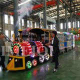 Amusement kids Trackless train