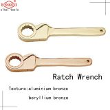 Safety sparkless explosion-proof tool explosion-proof membrane friction ratchet wrench