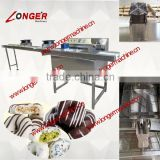 Chocolate Enrobing Machine|small chocolate coating machine