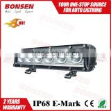 sigle row 10'' 20'' 30'' 40'' LED BAR Light Bar Lamp for offroad 5W CREEs waterproof IP67 21600lm post mount black face