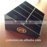 Custom 3mm black polycarbonate glued sheet for chocolate storage box